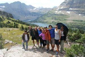 Group Picture at Hidden Lake, Glacier National Park