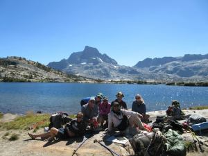 Group Photo on the JMT