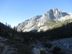 Le Conte Canyon from Dusy Basin