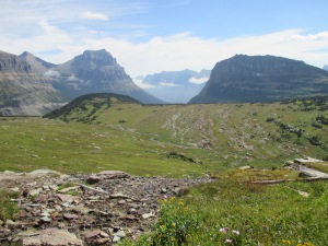 Above Logan Pass, Glacier National Park