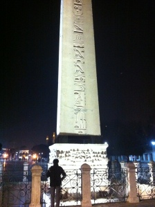 A 3,500 year old Egyptian obelisk that has been in Istanbul for 1,700 years