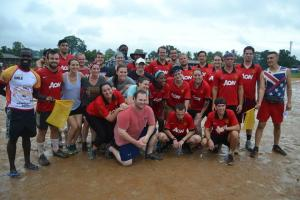 Our Salone Peace Corps Trainees Football Team