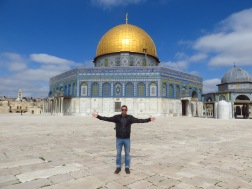 The Dome of the Rock on Temple Mount