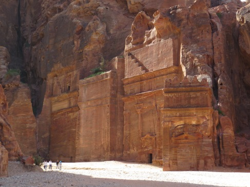The Royal Tombs in the morning light