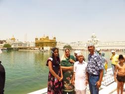 Left to right, Sombrit, Manjinder, Baraj, and Monu