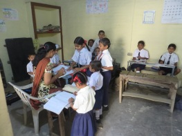 One of the small classes at Greenway