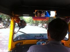 First ever Tuk- tuk (or Rikshaw) ride