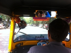 First ever Tuk- tuk (or Rikshaw) ride