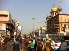 The center of Old Delhi