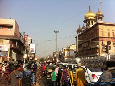 The center of Old Delhi