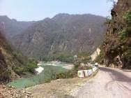 Crazy Himalayan roads