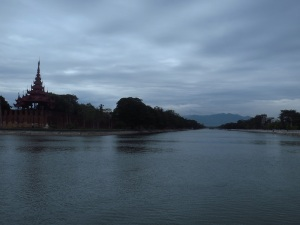 The massive Imperial Palace of Mandalay, 3km x 3km square