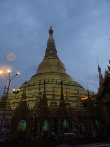 Shwe Dagon Pagoda from up close