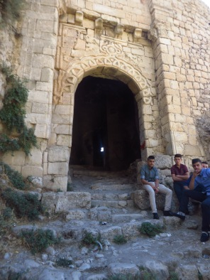 The old stone gate of Amedi