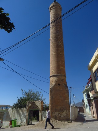 The old minaret, which also pre-dates the Islamic influence