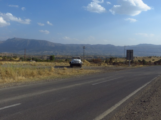 Heading south towards Sarsing, and from there, towards Duhok
