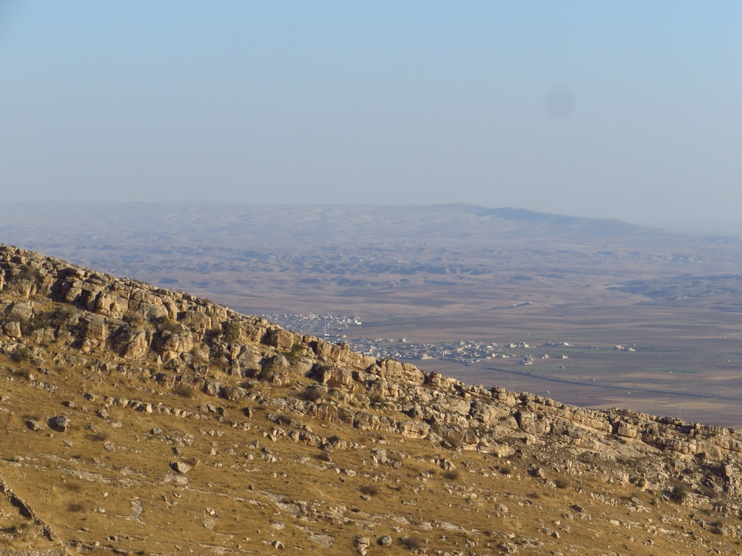 Looking southwest towards Erbil