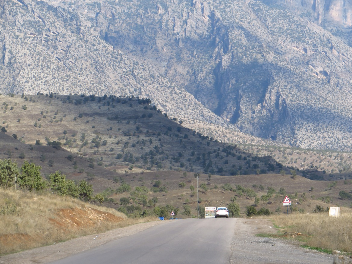 Leaving Sheladiz, heading for Barzan