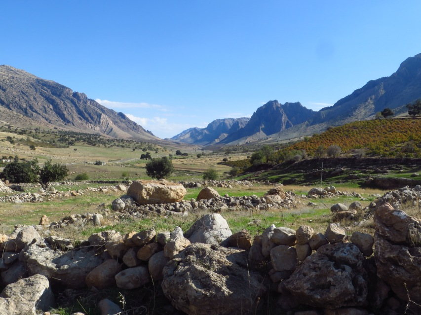 Beautiful valley tucked away between the cities of Souleymaniyah and Dokan