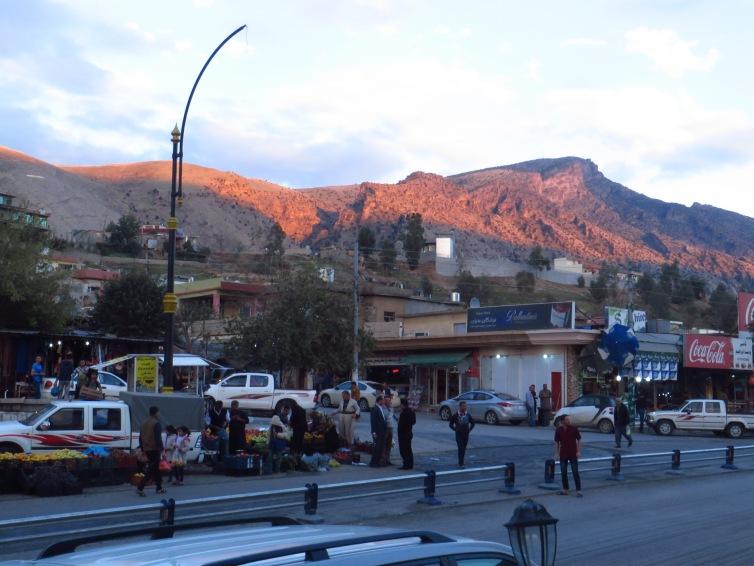 Sunset in Dokan